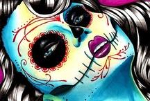 Dia de los Muertos / Dia de los muertos ♥  / by ☽☠☾Francesca☽☠☾