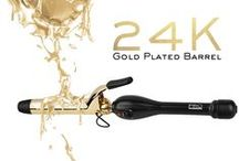 PRO Gold Collection / Products from PRO Beauty Tools Gold Collection
