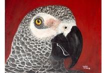 LOVE BIRD ITEMS / by Mimi Grzymala
