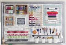 Craft Rooms and Craft Storage / by Sarah R
