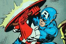 Captain America / Living Legend and First Avenger, created by Jack Kirby and Joe Simon. From Marvel Comics. Check out more classic comic book goodness at www.longboxgraveyard.com