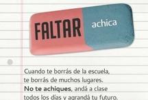 ¡Faltar achica!  / Pre-lanzamiento de la nueva campaña sobre Educación del Consejo Publicitario.