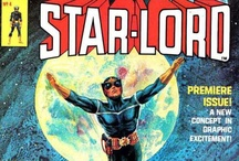 Star-Lord / The newest leader of the Guardians of the Galaxy, coming to the screen in 2014 from Marvel Studios and starring Chris Pratt. From Marvel Comics. Check out more classic comic book goodness at www.longboxgraveyard.com