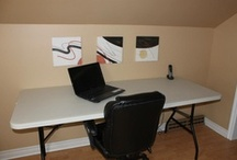 Craft Rooms / beautiful work spaces