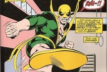 Iron Fist / The super-powered martial artist! From Marvel Comics. Check out more classic comic book goodness at www.longboxgraveyard.com