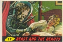Mars Attacks / Immortal bug-eyed-monster science fiction pulp! Check out these and other trading card images at www.trading-cards.org, and for more classic comic book goodness please visit www.longboxgraveyard.com