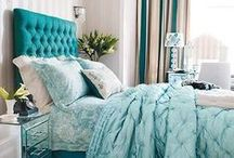 Aqua to Turquoise | Color Inspiration / Exquisite blue-greens in every shade from light aqua to deep turquoise. Color inspiration from the worlds of fashion, travel, art, decorating, beauty and more. / by Carmen @ the Decorating Diva