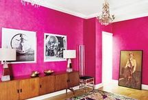 Pastel Pink to Hot Pink | Color Inspiration  / Beautiful pinks in every shade from the lightest cotton candy pink to the sexiest hot pinks. Color inspiration from the worlds of fashion, travel, art, architecture, decorating, beauty and more. / by Carmen @ The Decorating Diva, LLC