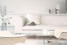 White | Colorless  & Serene Palette / Beautiful inspiration in every shade of white. / by Carmen @ the Decorating Diva