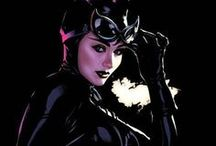 Catwoman / Selina Kyle is Catwoman! From DC Comics. There are even more looks than lives for this timeless femme fatale. Check out more classic comic book goodness at www.longboxgraveyard.com
