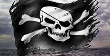 """Walk the Plank / """"Fifteen men on the dead man's chest--Yo-ho-ho, and a bottle of rum!"""""""