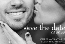 save the date ideas / by Alyssa Balkam