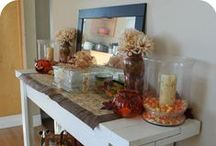 Fall  / home decor for the fall