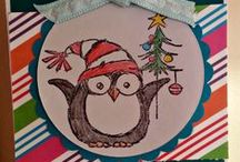 Owl Cards / card making