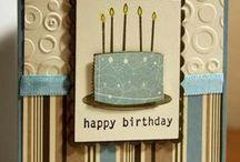 Birthday cards  / card making