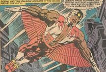 The Falcon / High-flying hero and steadfast partner to Captain America! From Marvel Comics. Check out more classic comic book goodness at www.longboxgraveyard.com