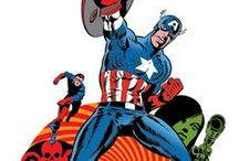 Cap By Steranko / Celebrating Jim Steranko's brief but influential run on Captain America. From Marvel Comics. Check out more classic comic book goodness at www.longboxgraveyard.com