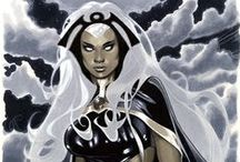 Storm / The X-Men's thunder goddess. From Marvel Comics. Check out more classic comic book goodness at www.longboxgraveyard.com