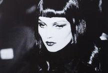 Femme Fatale / ...shaped and curved by light and shade, and expressed in gorgeous, formal, but seductive, fashion.