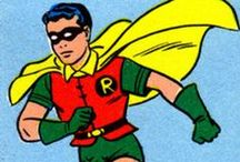 Robin / The Boy Wonder! Check out more classic comic book goodness at www.longboxgraveyard.com