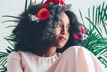 Fros and Flower Crowns /   The beauty of kinks, curls and floral crowns!