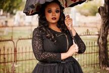 Black Girl Goth (Afro Goth) / A celebration of Black girls in Afro Goth looks! #cuteandcreepy