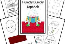 Nursery Rhymes / Nursery rhyme coloring pages, nursery printables and activities to incorporate in totschool, preschool or homeschool.