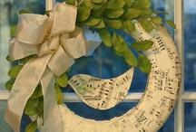 wreaths / by Melissa Hendricks