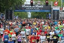 Rock 'n' Roll Seattle Marathon & 1/2 Marathon / by Seafair Festival