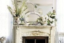 Home - Fireplace/Mantle Ideas / Love to change my mantle all the time. / by DJ Loverock