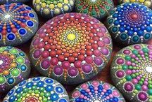 Crafts - Love Rocks / Rock Art / by DJ Loverock