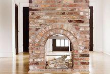 Mantles, Fireplaces, Arrangements