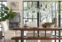 Dining Rooms that inspire Duke Manor Farm / A great and beautiful space to gather and enjoy dinner. My collection of dining rooms that inspire me.