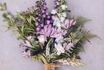 Wedding Bouquets / No walk down the aisle would be complete without a beautiful bunch of flowers in your hands. Here, you'll find perfect bouquets and floral arrangements.