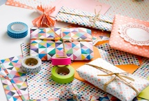 Gift wrapping. / Creative packaging and gift wrap inspiration.