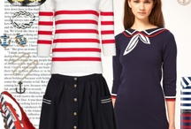 nautical/sailor inspired fashions / by CollectibleChic Jule