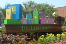 Shop The Landings! / The Landings is a wonderful mix of national retailers, local merchants, and specialty restaurants. Located on Airport Thruway & exit 8 off I-185 at Whitesville Rd and Sidney Simons Boulevard, it's in the center of Columbus, GA! This pedestrian, family friendly shopping center is a FUN place to be.  All of the tenants who have moved to The Landings have had sales exceed their goals. Visit http://shopthelandings.com to learn more!