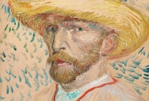 Vincent Van Gogh / I fell in love with the impressionists, especially Renoir, as a child and by my teens i discovered i preferred Vincent above all those who came before him in that world. / by Ruth Lee
