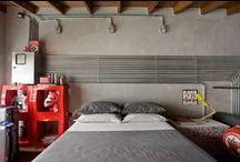 Bedrooms / by Bia Meunier
