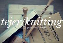 Tejer, quiero aprender / Tejer/knitting