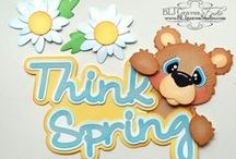 layouts SPRING TIME / FLOWERS  / by Coco Barrantes