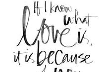 Love Quotes / Words, quotes, memes and giggles to remind us what love is! #ChiStyleWed