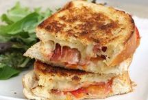 Grilled Cheeses!!!!!!!!!!!!! / An amazing assortment of the most delish looking grilled cheese sandwiches that I MUST try!!!!! / by Courtney Usher