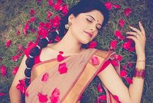 Saari / the seven/nine yard cloth. Beautiful only.