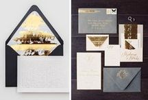 The loveliest wedding invitations / by Maria Burnham