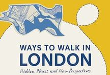 """Ways to Walk / Images from my book """"Ways to Walk in London"""", a collection of  written and illustrated essays about my journeys around the capital by foot.  Published  by September Publishing http://amzn.to/1GMhMeQ. Also images from my blog http://londonsonglines.tumblr.com"""