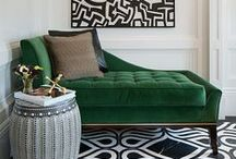 Emerald Green / All things emerald green, think hollywood glamour or manhattan apartment