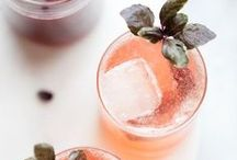 Wedding Cocktails / If you don't serve a signature drink at the reception did you really get married? Take a peek at a few of our favorite wedding cocktails and drinks.