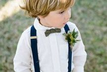 """Ringbearers / Ringbearers add an instant """"aw!"""" factor to your wedding. Here's a few ideas on how to make them even cuter."""