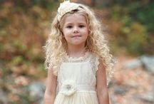 """Flower Girl / Flower girls add an instant """"aw!"""" factor to your wedding. So why not make your mini-me shine?"""